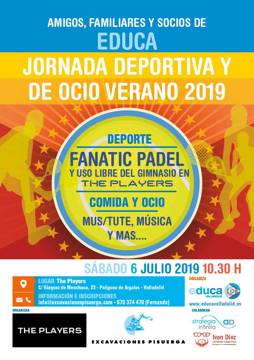 Jornada Deportiva y de Ocio Verano 2019