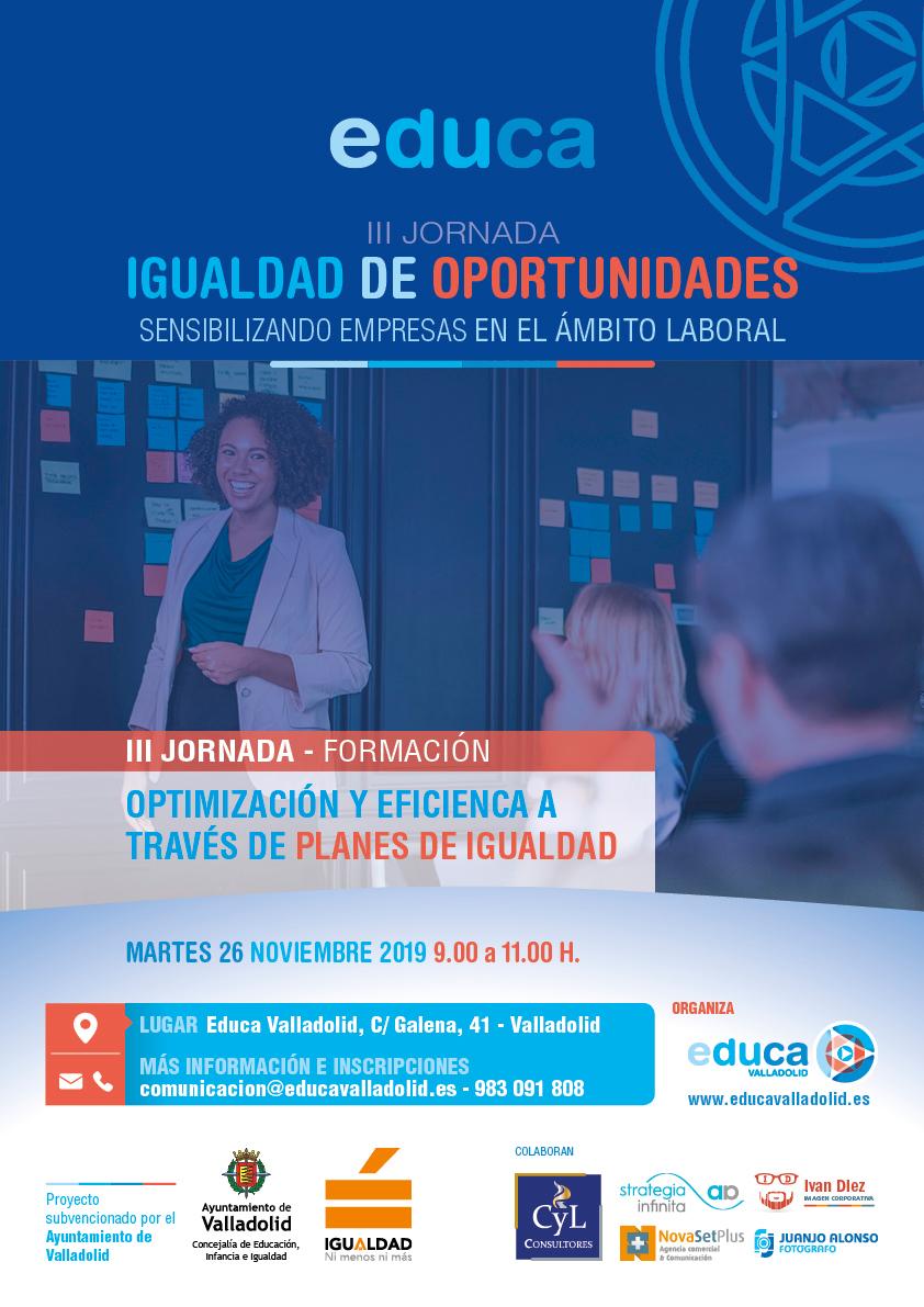 """TALLER """"Optimización y eficiencia a través de Planes de Igualdad"""""""